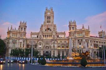 Madrid - Plaza de Cibeles