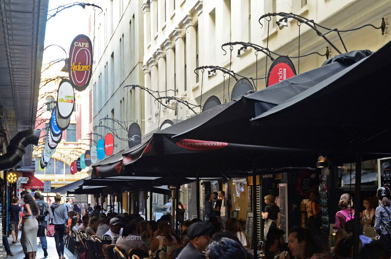 Cafe's in Degraves St