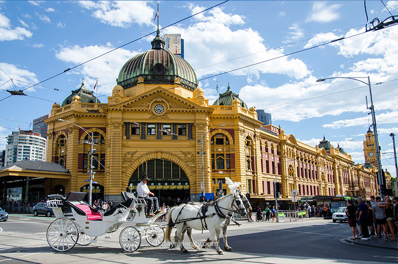 Melbourne - Flinders St Station
