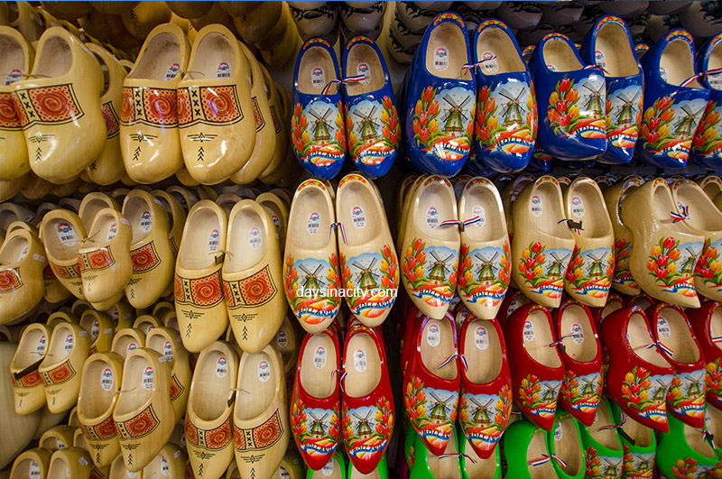 Wooden Clogs in Amsterdam