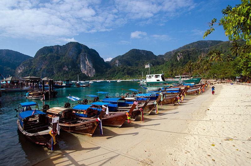 Phi Phi Islands Beaches Loh Dalum Tonsai Bay Long Beach: How Long To Spend On Phi Phi Island