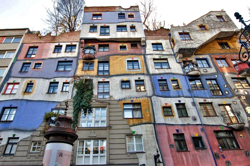 Vienna - Hundertwasserhaus